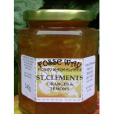 St Clements Orange, Lemons and Honey Marmalade